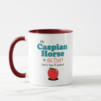 My Caspian Horse is All That! Funny Horse Mug