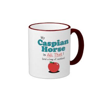 My Caspian Horse is All That! Funny Horse Ringer Mug