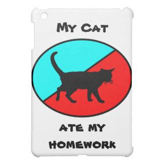 My Cat Ate My Homework! iPad Mini Cases