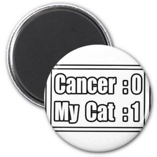 My Cat Beat Cancer (Scoreboard) Magnet