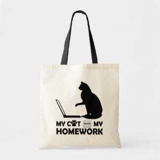 My cat deleted my homework bag