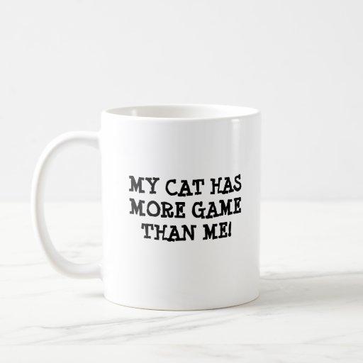 My Cat has Game Coffee Mug
