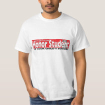 My Cat Is An Honor Student At Your School Funny T Tee Shirts