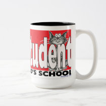 My Cat is an Honor Student at your school mug