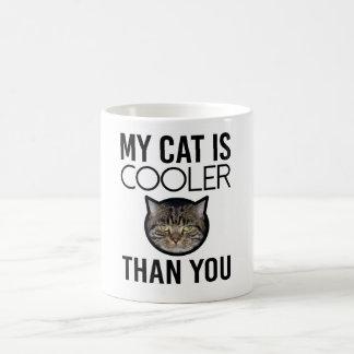 My Cat is Cooler Than You (Custom Image) Coffee Mug