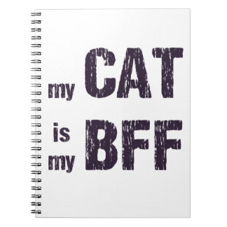 My Cat is My BFF Notebook