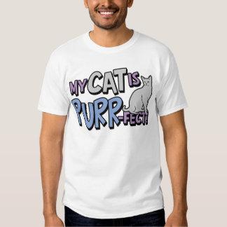 My Cat Is Purr-fect T Shirt