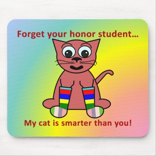 My Cat is Smart Mousepad