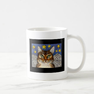 My cat isan Angel mug