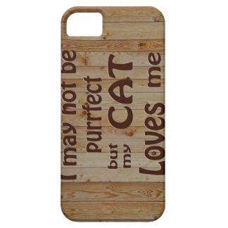 My Cat Loves Me iPhone SE/5/5s Case