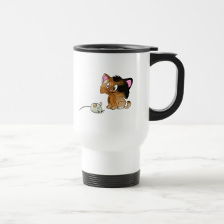 My Cat Loves Mice Travel Mug