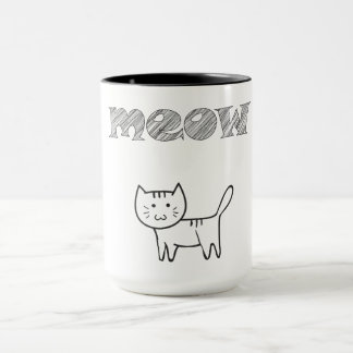 ❤ my cat! mug