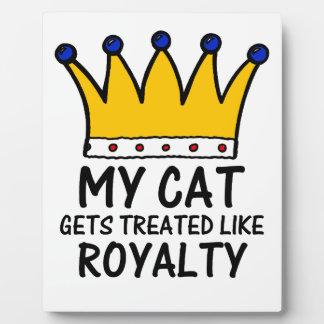 My Cat Plaques