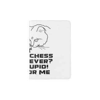 My Cat Plays Chess Passport Holder