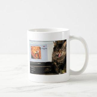 My Cat studies at MIT Classic White Coffee Mug
