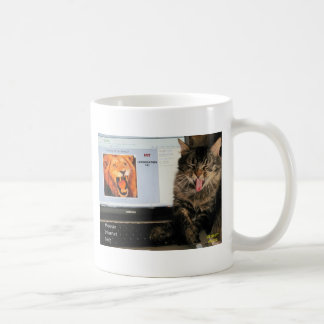 My Cat studies at MIT Coffee Mug