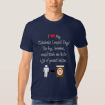 My Catahoula Leopard Dog Loves Peanut Butter T Shirt