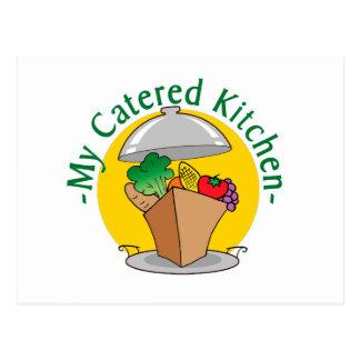 My Catered Kitchen Logo.jpg Postcard