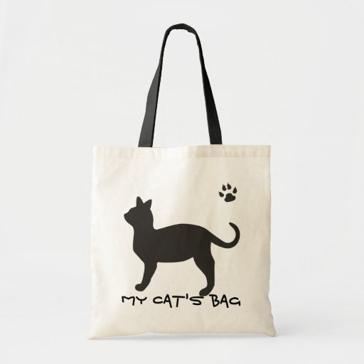 My Cat's Bag_Tote Bag