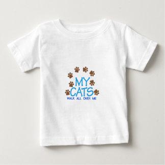 My Cats Walk Baby T-Shirt