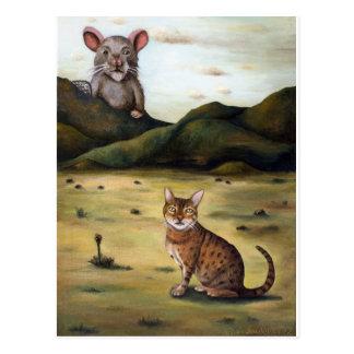 My Cats Worst Nightmare Postcard