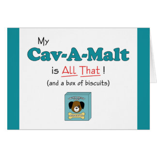 My Cav-A-Malt is All That! Card
