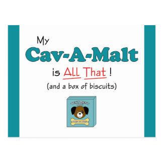 My Cav-A-Malt is All That Postcards