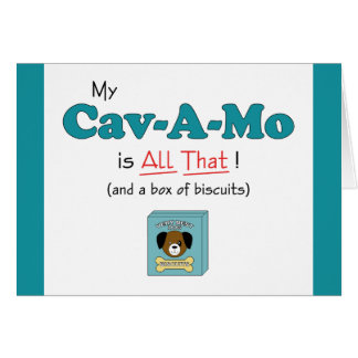 My Cav-A-Mo is All That! Card
