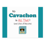 My Cavachon is All That! Postcards