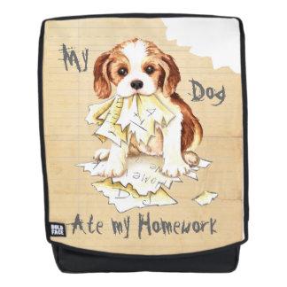 My Cavalier Ate My Homework Backpack