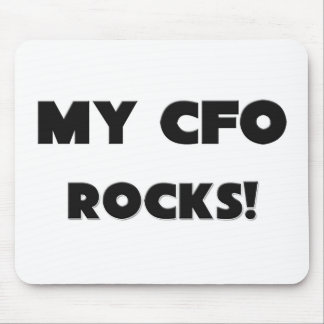 MY Cfo ROCKS! Mouse Pad
