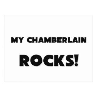 MY Chamberlain ROCKS! Postcard