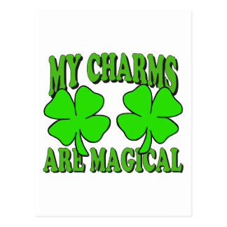 My Charms Are Magical Gift Postcard