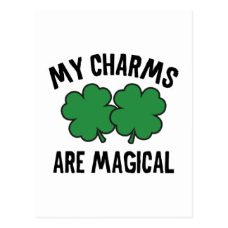 My Charms Are Magical Postcard