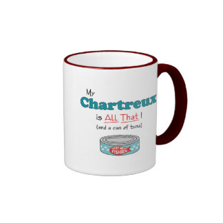 My Chartreux is All That! Funny Kitty Coffee Mugs
