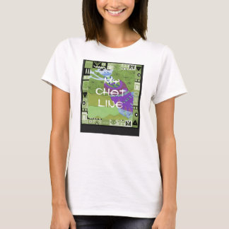 My chat line - Africa Art T-Shirt