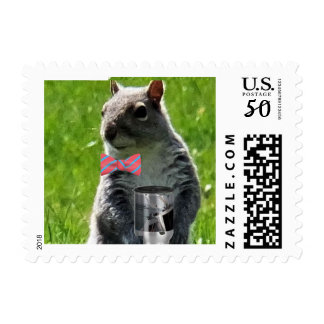 My Chatterings Postage Stamp Squirrel Break