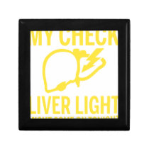 my check liver light might come on tonight cancer gift box