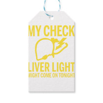 my check liver light might come on tonight cancer gift tags