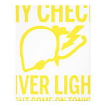 my check liver light might come on tonight cancer letterhead