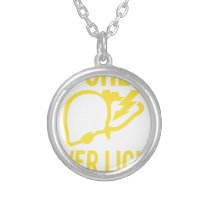 my check liver light might come on tonight cancer silver plated necklace