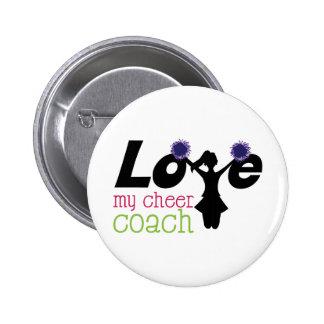 My Cheer Coach 2 Inch Round Button