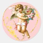 My Cherub Classic Round Sticker