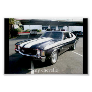 my chevelle posters