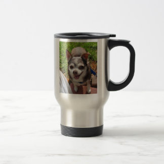 My Chi needs a Latte 15 Oz Stainless Steel Travel Mug