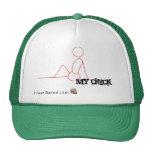 My Chick Trucker Hat