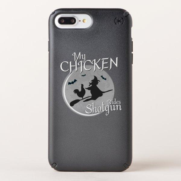 My Chicken Rides Shotgun Halloween Pet Gifts Speck iPhone Case