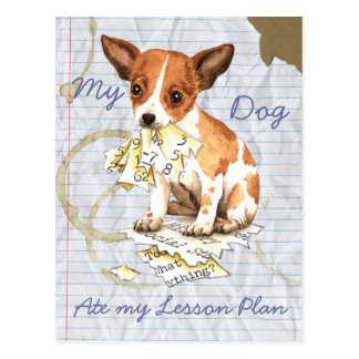 My Chihuahua Ate My Lesson Plan Post Card