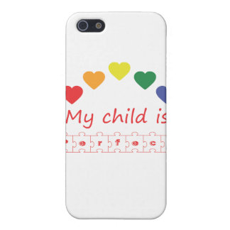 My child is perfect iPhone 5 covers