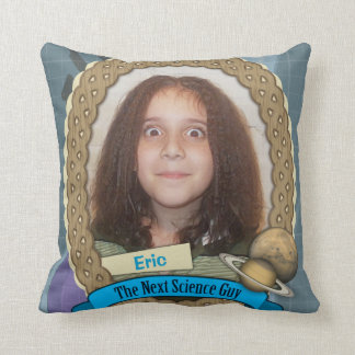 My Child is the Next Science Guy Throw Pillow